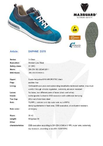 DAPHNE Halbschuh S1 Maxguard 40 ESD SRC D370 türkis Größe E5ZxxT1qw