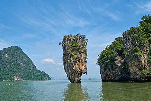 LAMINATED 36x24 inches POSTER: Phang Nga Bay Phuket Province