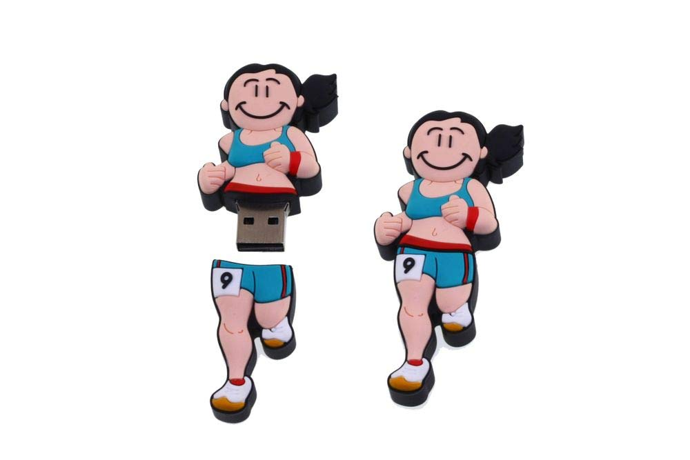 Dorex 403098 - Memoria USB de 16 GB con diseño Chica Atleta ...