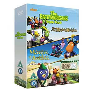 The Backyardigans Triple Pack [DVD] [Reino Unido]