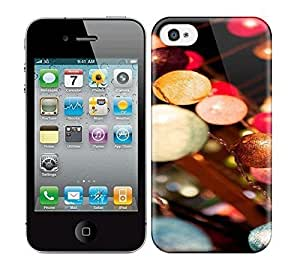 Best Power(Tm) HD Colorful Painted Watercolor Crystalchandelier Hard Phone Case For Iphone 4/4S