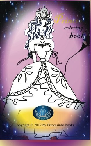 Princesa coloring books (Spanish Edition) [Princesinha books] (Tapa Blanda)