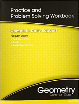 HIGH SCHOOL MATH COMMON-CORE GEOMETRY PRACTICE/PROBLEM SOLVING ...