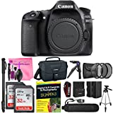 Canon EOS 80D DSLR Camera (Body) Advanced Photo and Travel Bundle + Camera Works Starter Kit