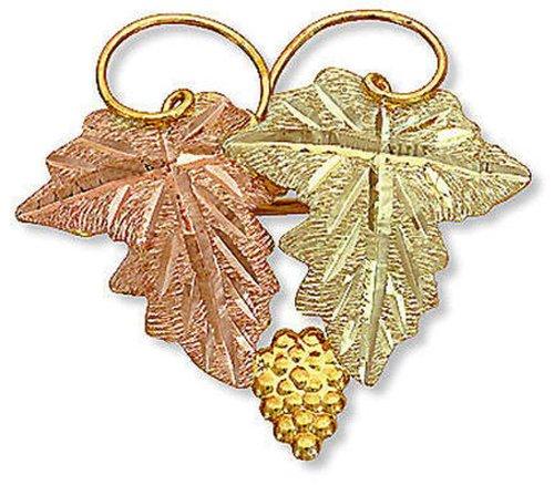 Landstroms Classic 10k Black Hills Gold Brooch Pin - G ()