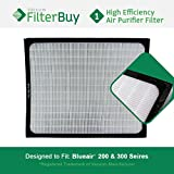 Blueair 200 300 Series Particle Filter. Designed by FilterBuy to fit Blueair 200 & 300 Series Air Purifiers.