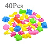 MS 40PCS Sand Molding Kids Toy Activity Sand Sculpture Set CJ532