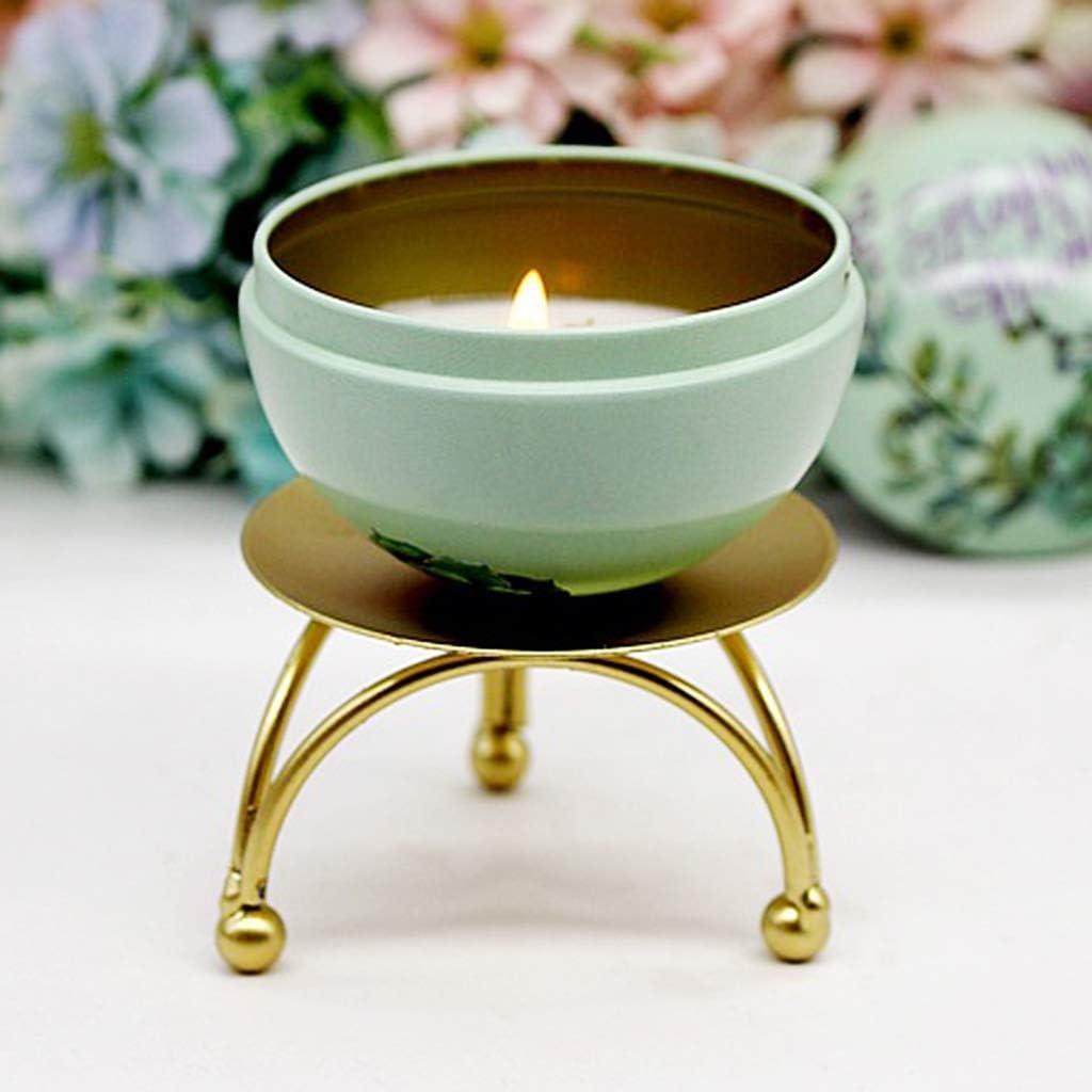 Tvvudwxx Kerzenst/änder Geometrische Form Kerzenst/änder Tischdekoration Zuhaus Dekor Kerzenhalter Drei Fu/ß Ohne Dorn