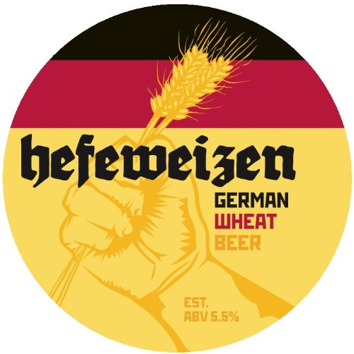 Craft A Brew Home Brewing Kit for Beer - Craft A Brew Hefeweizen Beer Kit - Starter Set 1 Gallon - Reusable Make Your Own Beer Kit