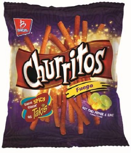 Barcel USA Churritos, Fuego, 4 Ounce (Pack of 16) by Barcel USA