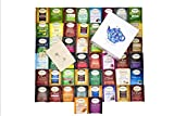 Twinings Tea Bags Sampler Assortment Variety Pack - 50 Count with Gift Box