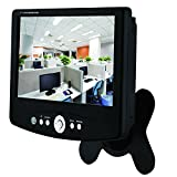 JITzh 7 Inch 800x480 TFT LCD Display Monitor With AV VGA Video Support for Security Camera and DVR