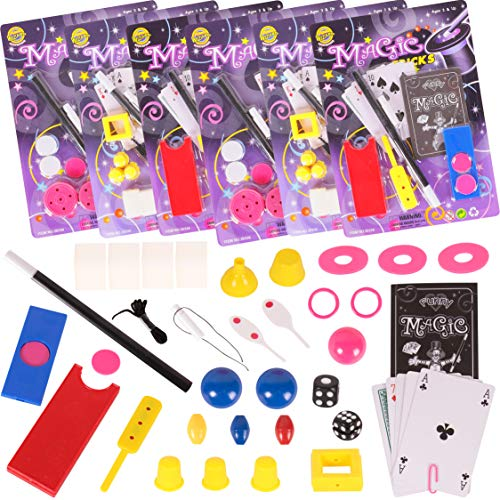 - Narwhal Novelties Magic Party Favors,12-Magic Kit Favors; Birthday Party; (12 Magic Kits ) Favors for Kids; Magic Tricks, Magic Cards & More!