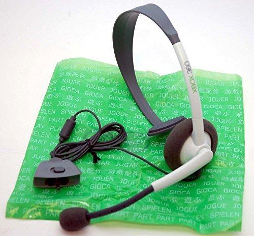 Official Microsoft Xbox 360 Live Communicator Headset - bulk packaging