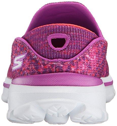 Skechers Go Walk 3 Glisten - Zapatillas Mujer Rosa
