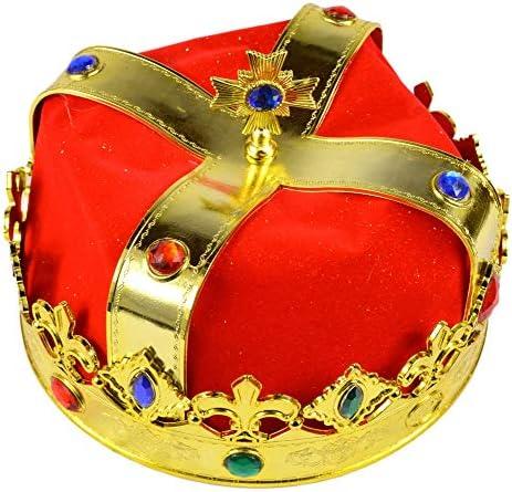AllBright 王冠 冠 王様 コスプレ クラウン パーティー イベント キングアーサー 衣装 劇 仮装 小道具