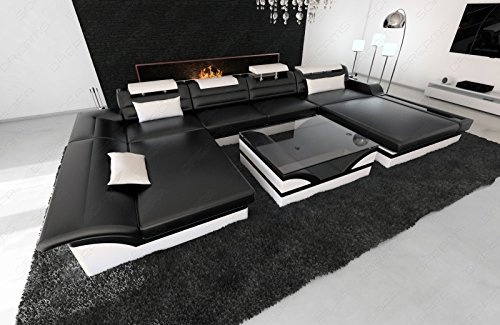 Fabric Sectional Sofa MONZA LED