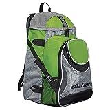 deBeer Lacrosse Backpack, Lime