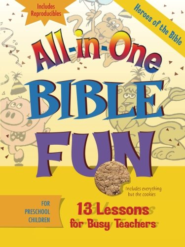 All-in-One Bible Fun: Heroes of the Bible Preschool (Outlets In Nc)
