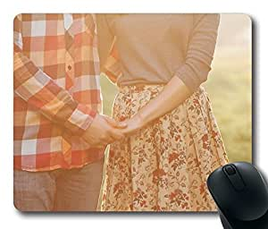 Love Is Vintage Memories Mouse Pad Desktop Laptop Mousepads Comfortable Office Mouse Pad Mat Cute Gaming Mouse Pad