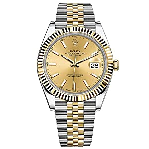 Rolex Oyster Perpetual Datejust jubilee Champagne index
