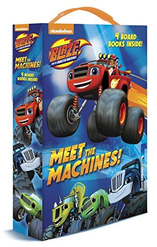 Meet the Machines! (Blaze and the Monster Machines) by Random House (July 26,2016)
