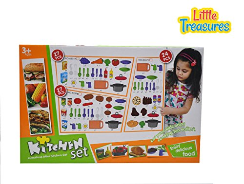 Kitchen set complete cookware collection for your 3 year for Kitchen set for 7 year old