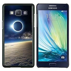 LECELL--Funda protectora / Cubierta / Piel For Samsung Galaxy A5 A5000 -- Luna Sun Eclipse Tierra Atmósfera Ver --