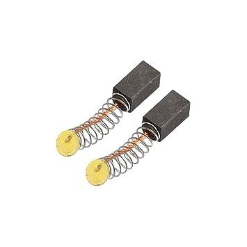 2 pcs 5 mm x 5 mm x 13 mm Motor Escobillas De Carbono para herramienta eléctrica: Amazon.es: Bricolaje y herramientas