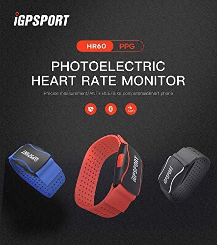 iGPSPORT HR60 pulsómetros Brazalete Compatible con Ant+ y ...