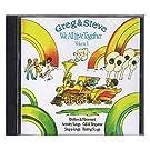 Greg & Steve Productions YM-001CD Greg & Steve: We All Live Together Vol. 1 CD