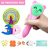 ARTISTORE 3D Printing Pen - 3D Pen for kids, 3D Doodler Pen with LED Light and Accessories, Adjustable Speed, Low Temperature Safety Holder, Free PCL Low-temperature Filaments, DIY Best Gifts for kids