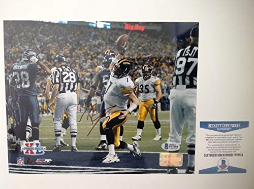 - Ben Roethlisberger Autographed Signed Memorabilia 8x10 Steelers Photo - Beckett Authentic