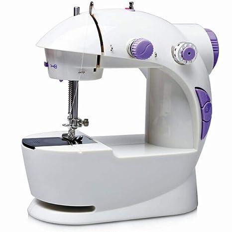 GSKTY Máquina de Coser Escritorio Mini eléctrico hogar 23 * 13 * 21 cm