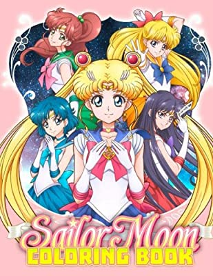 Sailor Moon Coloring Book Great Coloring Pages For Kids