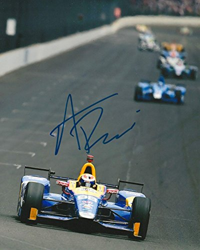 ALEXANDER ROSSI signed 8x10 photo IRL INDY with COA C - Autographed Extreme Sports Photos ()