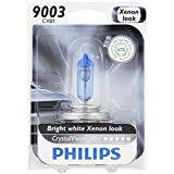 Philips 9003 CrystalVision Ultra Upgrade Headlight Bulb, 1 Pack