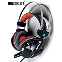 Onexelot Over Ear Microphone Surround Headphones Benefits