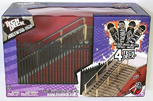 Tech Deck SK8 Parks Hollywood High + 4 Finger Boards by Tech Deck (Image #2)
