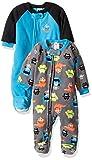 Gerber Baby Boy 2 Pack Blanket Sleeper, Monsters, 12 Months