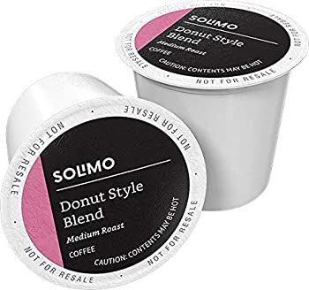 100-Count Amazon Brand Solimo Medium Roast Coffee Pods
