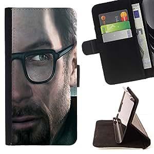 Momo Phone Case / Flip Funda de Cuero Case Cover - G0Rdon Freeman - Hl Gaming - Huawei Ascend P8 Lite (Not for Normal P8)