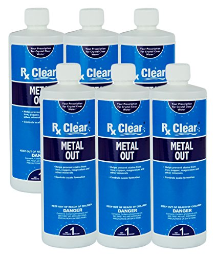 Rx Clear Metal Out (6 Pack) (Out Swimming Pool)