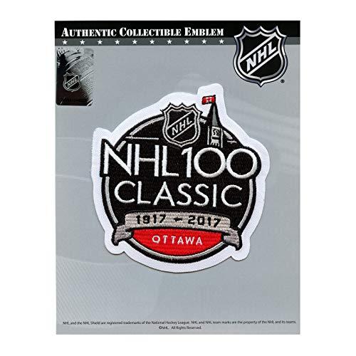 2017 Official NHL 100th Classic Jersey Patch Ottawa Senators Montreal Canadiens English