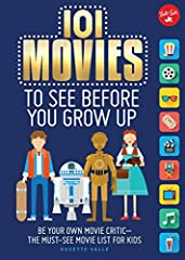 101 Movies to See Before You Grow Up is the must-see movie list for future critics!Choose one of these family-friendly films and record your reactions. Movies can make you think, teach you a lesson, or just let you escape int...