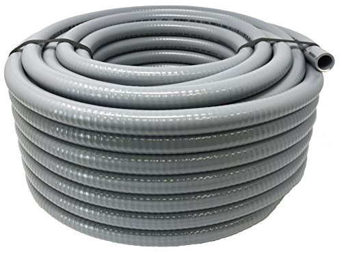 Sealproof 1/2-Inch Flexible Non-metallic Liquid-Tight Electrical Conduit Type B, UL Listed, 1/2