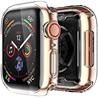 Smiling Apple Watch 4 Clear Case With Buit in TPU Screen...