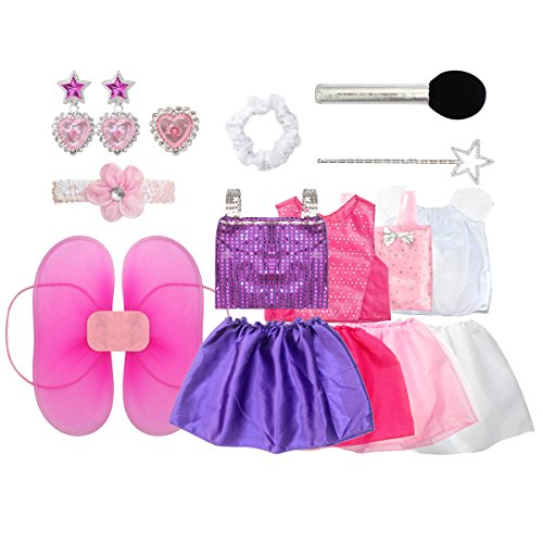 Dress Up Pretend Play Images On: 20PCS Girls Role Play Dress Up Trunk Pretend Play Costume