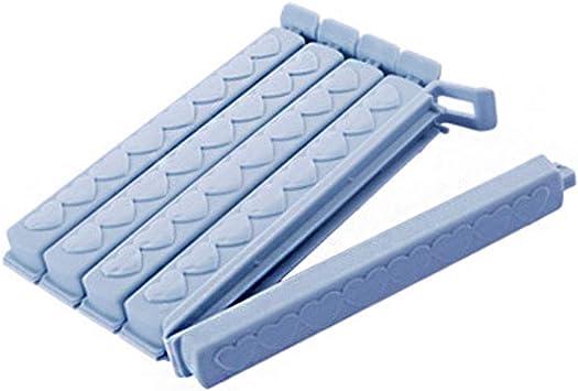 Reusable Food Bag Sealer Clips For Storage in Kitchen Fridge Freezer 13 Pack