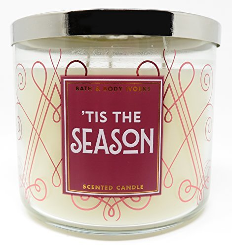 Bath and Body Works 'Tis The Season Scented 3 Wick Candle for 2017